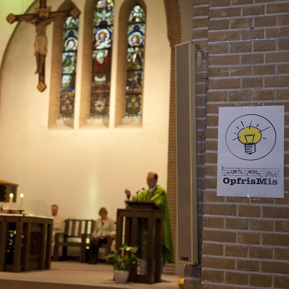 OpfrisMis in de St. Josephkerk