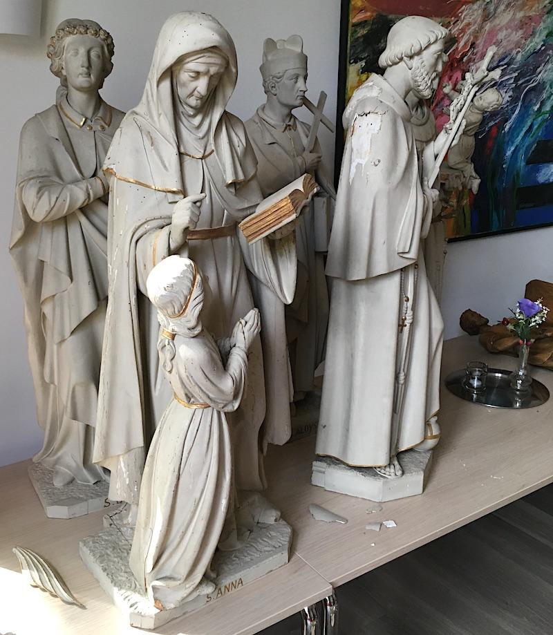 Een beeld uit de St. Josephkerk adopteren